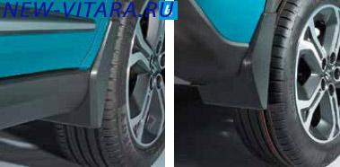 Комплект жестких брызговиков для передних и задних колес Suzuki Vitara 72210-54P00-000 - vitara35.jpg