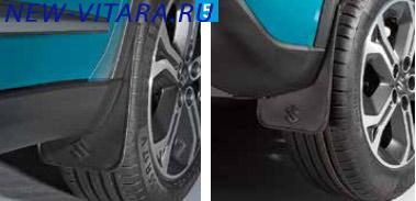 Комплект гибких брызговиков для передних и задних колес Suzuki Vitara 990E0-54P13-000 - vitara36.jpg