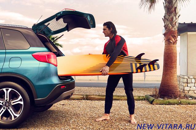 Вместительный багажник Suzuki Vitara - vitara38.jpg