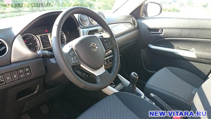 Руль и передняя панель Suzuki Vitara - vitara54.jpg