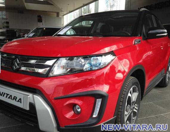 Suzuki Vitara в красно-черном цвете - vitara29.jpg