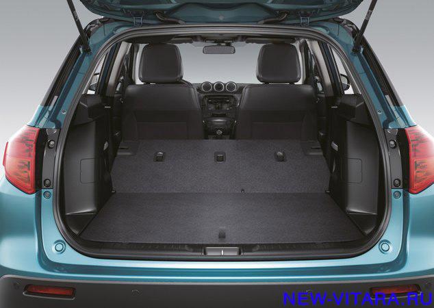 Сложенные задние сиденья Suzuki Vitara - vitara85.jpg