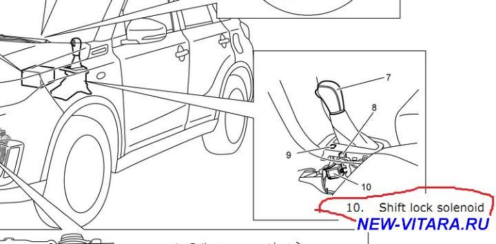 АКПП на Suzuki Vitara - lock solenoid.jpg