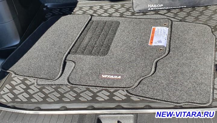 Новые штатные тканевые коврики Витара - 20210501_143229.jpg