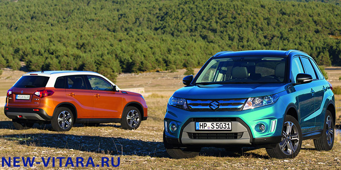 Suzuki Vitara в цвете Horizon Orange Metallic, Superior White и Atlantis Turquoise Pearl Metallic. - vitara23.jpg