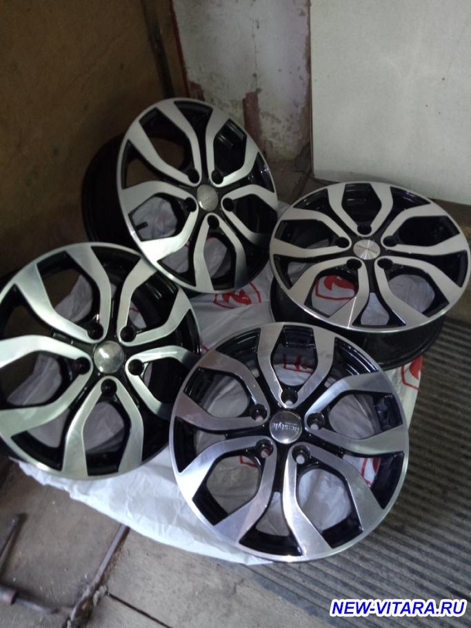 Москва. Комплект летних колес Конти Премиум контакт 2 на литых дисках - IMG_20190417_171620.jpg