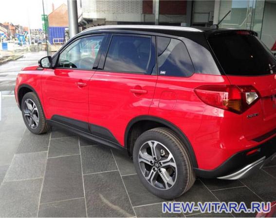 Suzuki Vitara в красно-черном цвете - vitara71.jpg