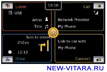 Функция быстрого доступа магнитолы Suzuki Vitara - vitara64.jpg
