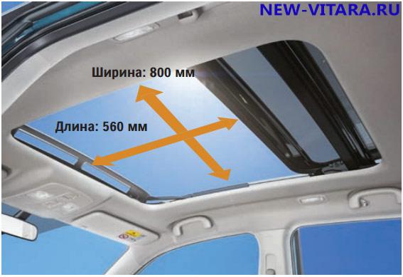 Панорамный люк Suzuki Vitara - vitara108.jpg