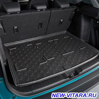 Полиуретановый ковер в багажник Suzuki Vitara - 990E0-54P15.jpg