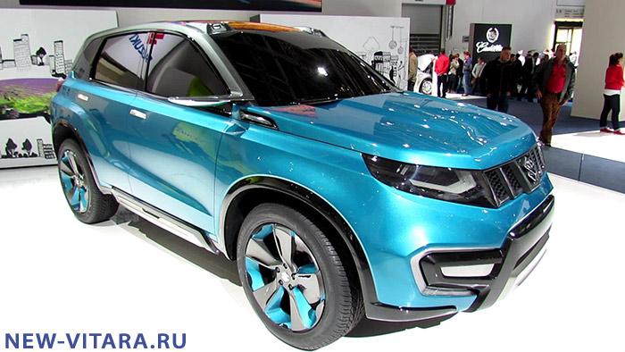 Концепт кар Suzuki iV4 на автосалоне на ММАС 2014. - Vitara_concept.jpg