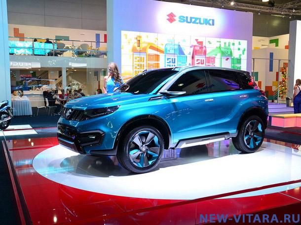 Концепт кар Suzuki iV4 на автосалоне на ММАС 2014. - Vitara_concept3.jpg