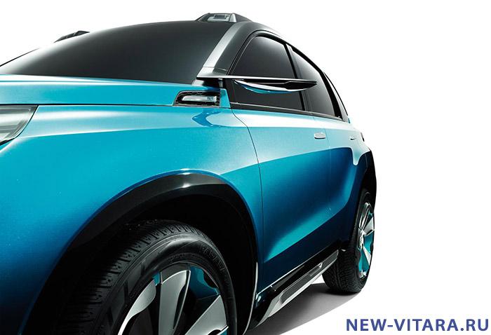 Официальное фото концепт кара Suzuki iV4. - Vitara_concept7.jpg