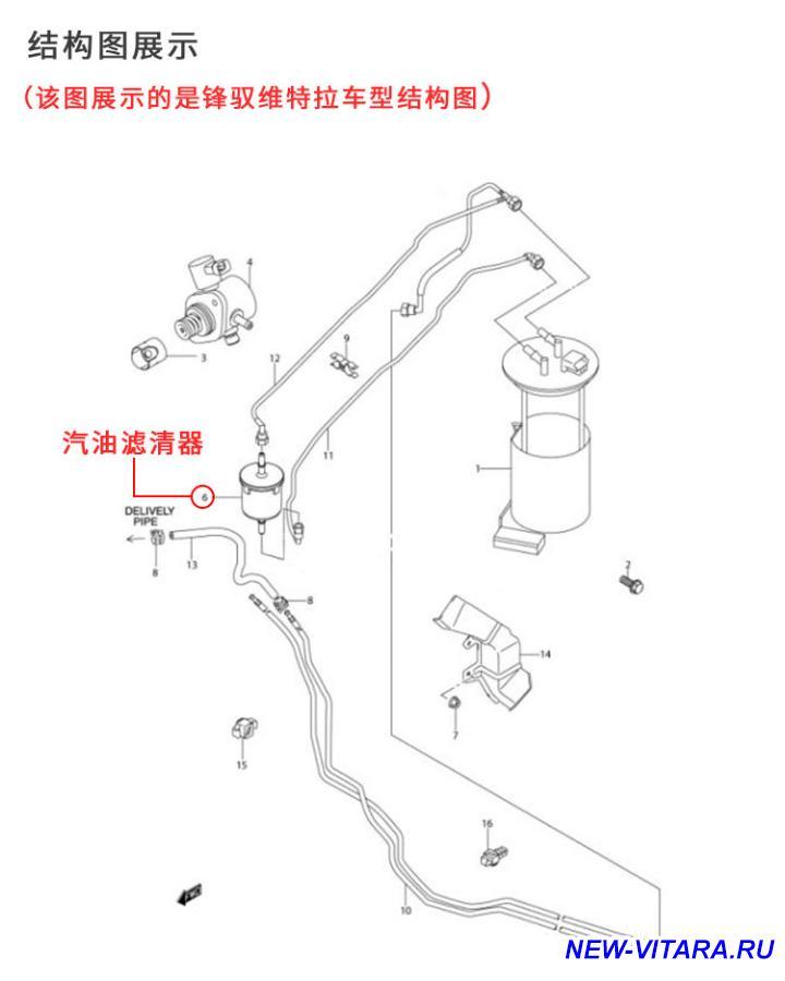 Бензонасос фильтр - China fuel pump.jpg