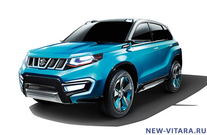 Официальное фото концепт кара Suzuki iV4. - Vitara_concept8.jpg