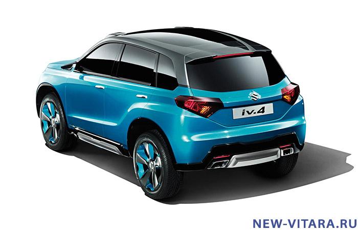 Официальное фото концепт кара Suzuki iV4. - Vitara_concept11.jpg