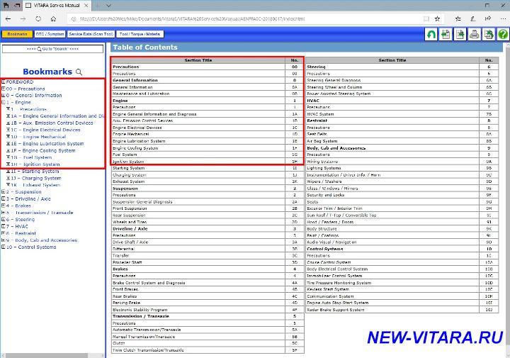Каталожные номера на расходники и т.д. - Contents.jpg