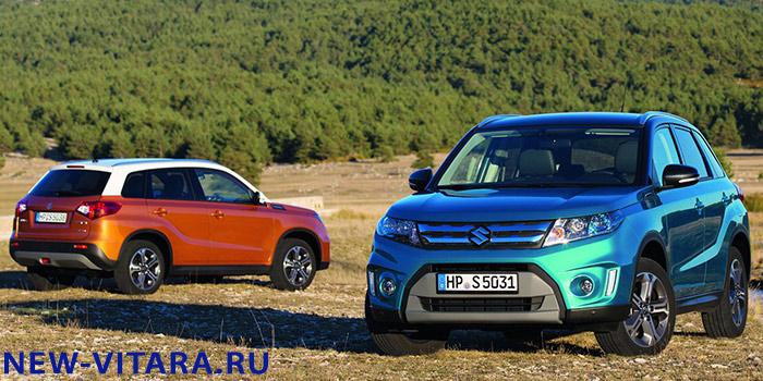 Suzuki Vitara в цвете Horizon Orange Metallic, Superior White и Atlantis Turquoise Pearl Metallic. - vitara23.jpg