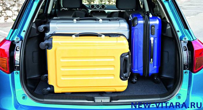 Возможности багажника Suzuki Vitara - vitara26.JPG