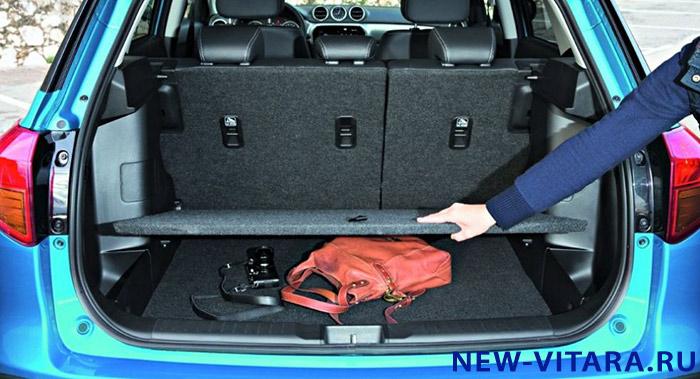 Возможности багажника Suzuki Vitara - vitara25.JPG